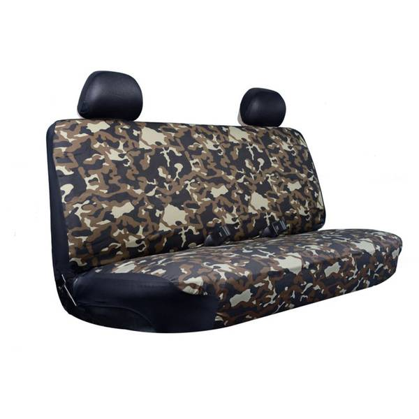 Camouflage Full Size Truck Bench