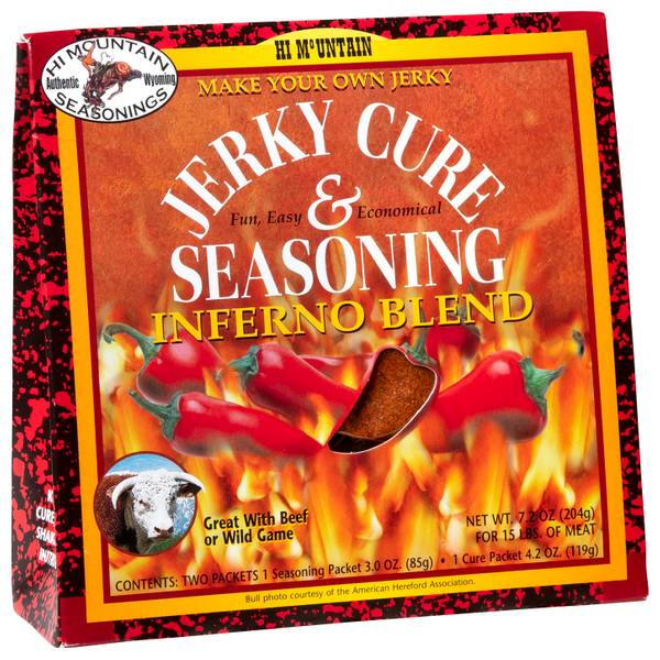 Inferno Jerky Cure and Seasoning