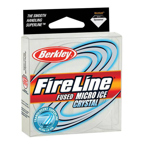 Berkley fireline crystal micro ice fishing line for Ice fishing line