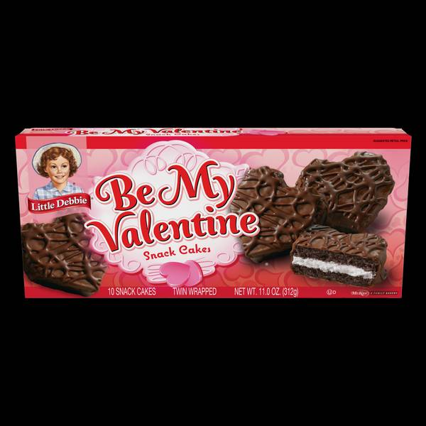 Valentine's Day Snack Cakes