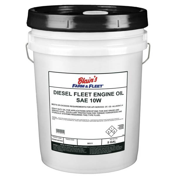 SAE10W Diesel Fleet Engine Oil