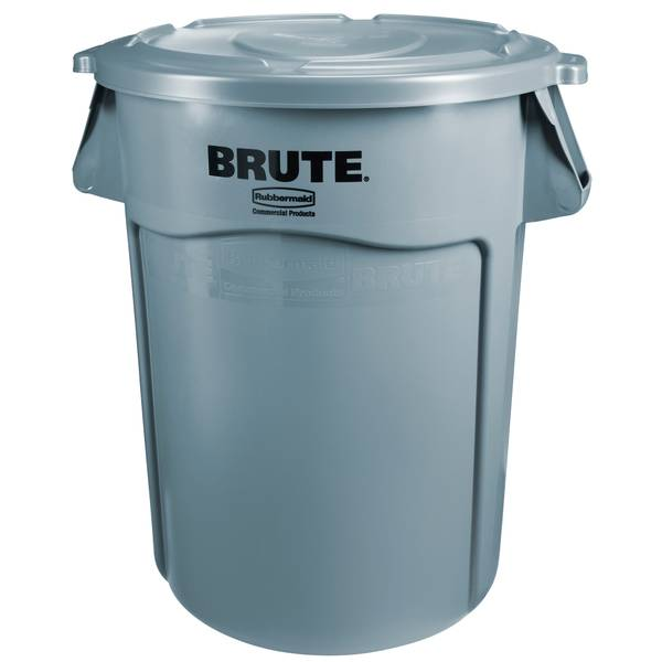 Brute 32 Gallon Container With Lid