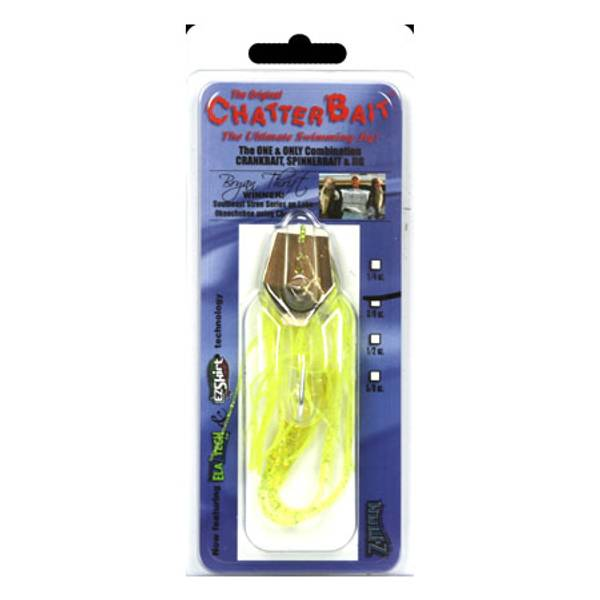 Z – Man Chartreuse Chatter Bait Fish Lure