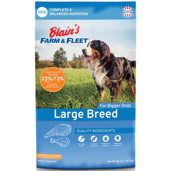 40 lb Large Breed Adult Dog Food