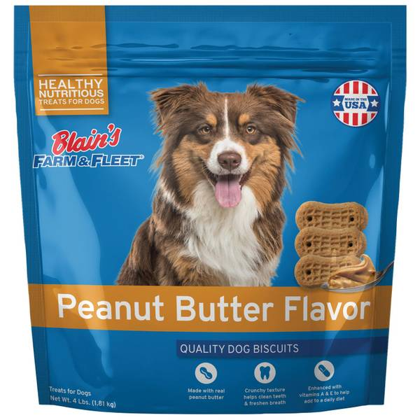 Peanut Flavored Dog Biscuits