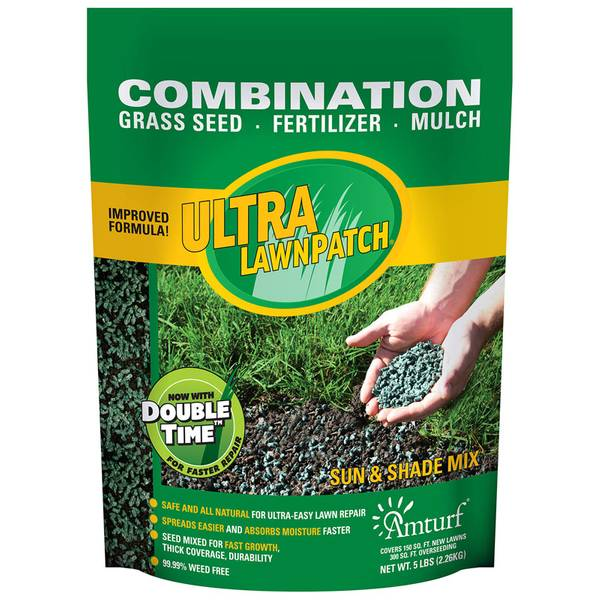Ultra Lawn Patch Sun and Shade Mix