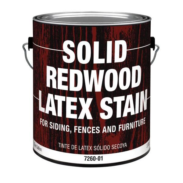 Valspar Exterior Redwood Latex Stain