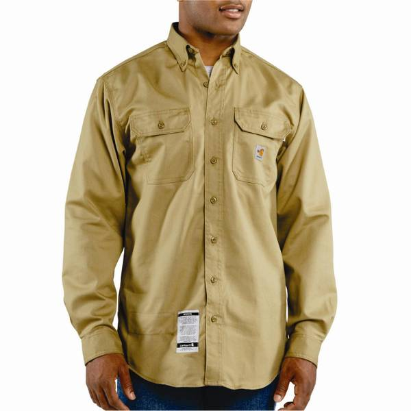 Men's Flame Resistant Twill Long Sleeve Shirt