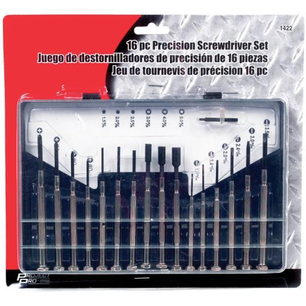 16pc Precision Screwdriver Set