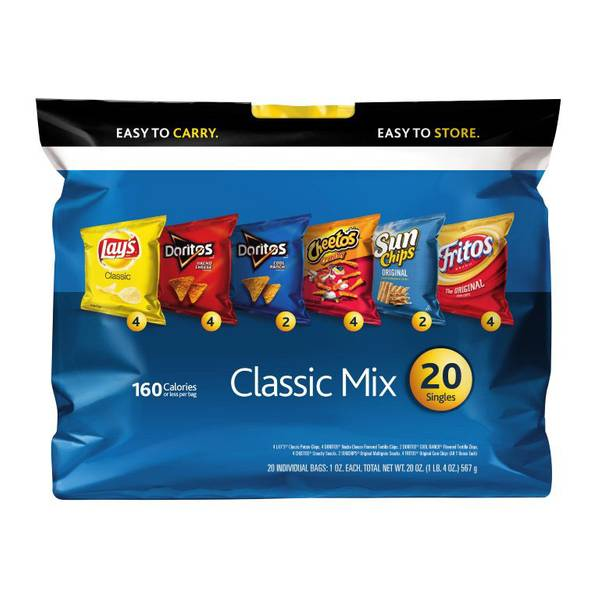 Classic Mix Variety Pack Sack