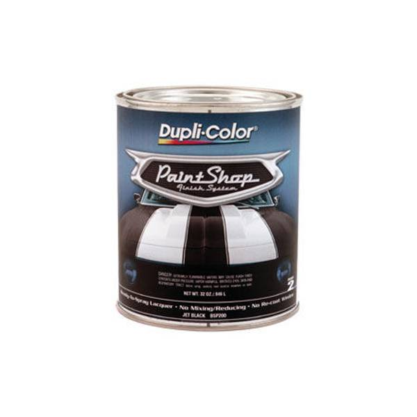 Paint Shop Finish System Paint