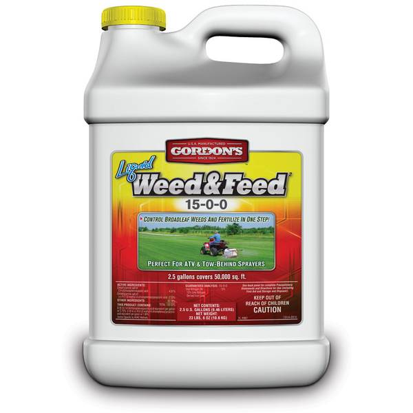 Liquid Weed and Feed 15-0-0 Lawn Fertilizer