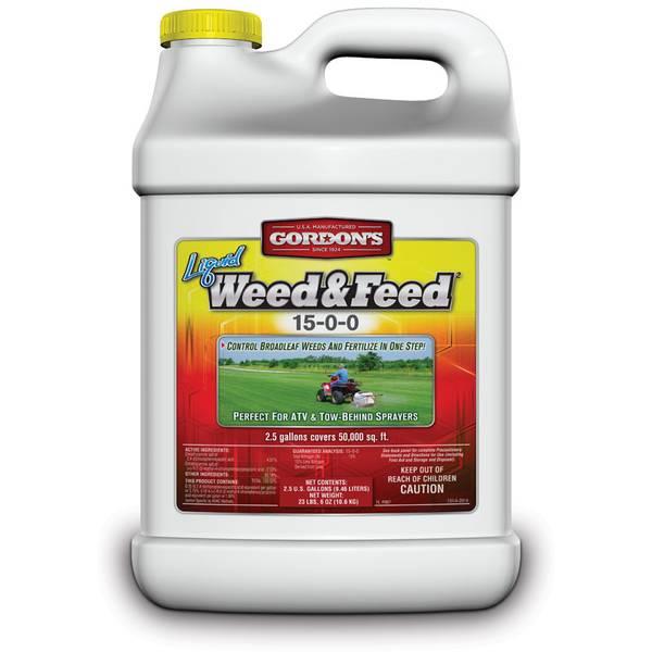 Liquid Weed and Feed 15-0-0 Lawn Fertilizer