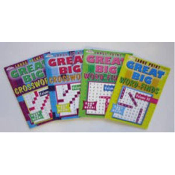 Great Big Puzzle Books