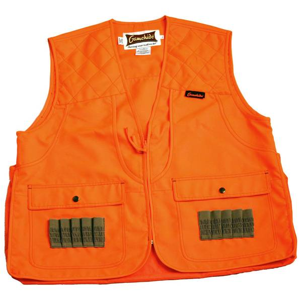 Gamehide Youth Orange Front Loader Hunting Vest thumbnail
