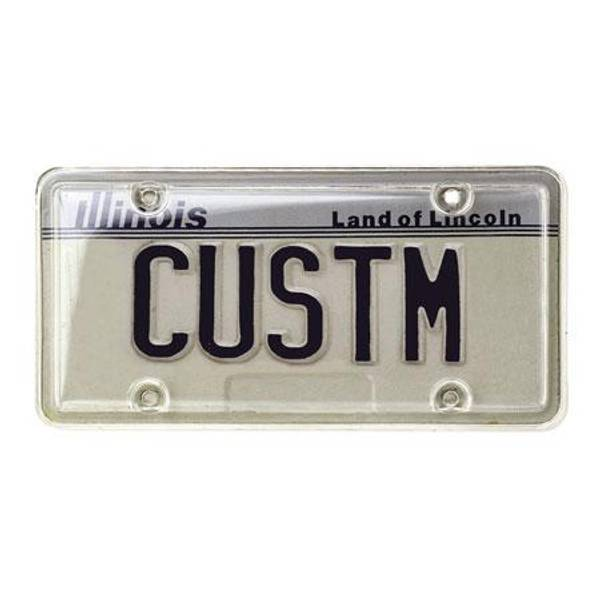 Clear License Plate Protector