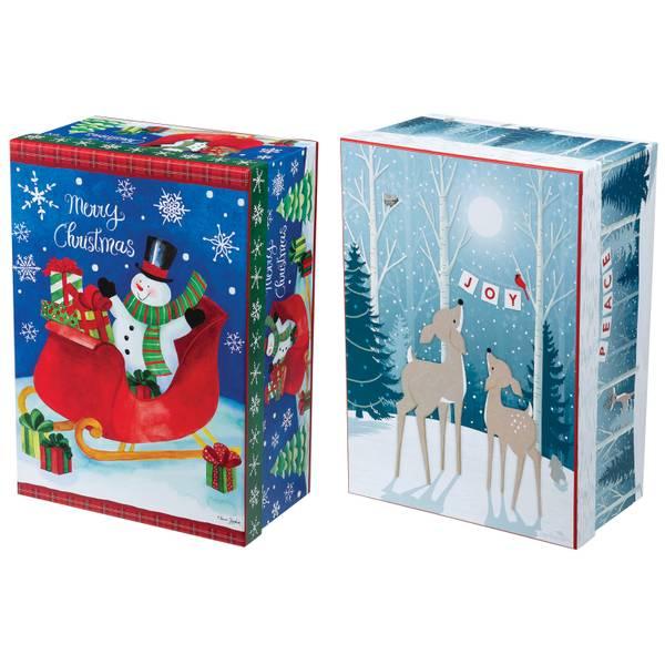 Lindy bowman co printed rectangular gift box assortment
