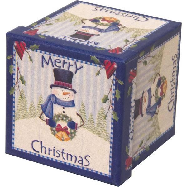 Lindy bowman co square printed gift box