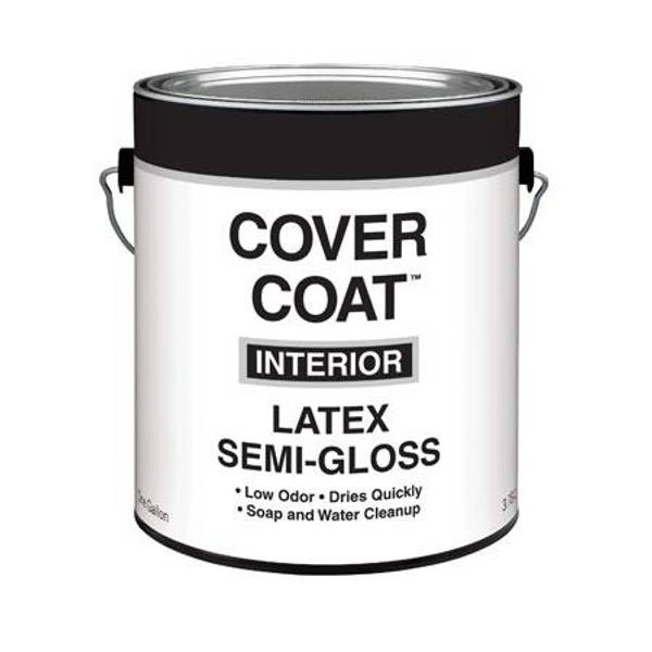 cover coat 1 gallon interior latex semi gloss wall and. Black Bedroom Furniture Sets. Home Design Ideas
