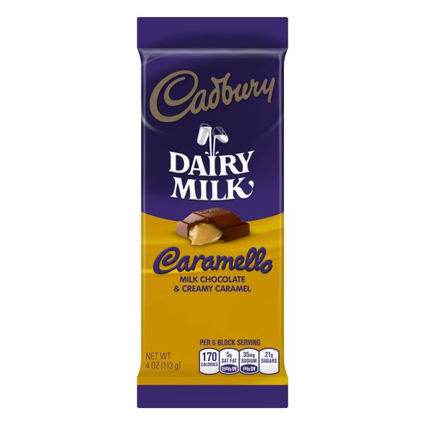 Photo of DAIRY MILK Caramello Bar
