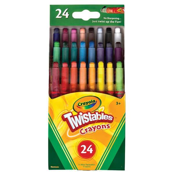 Mini Twistable Crayons