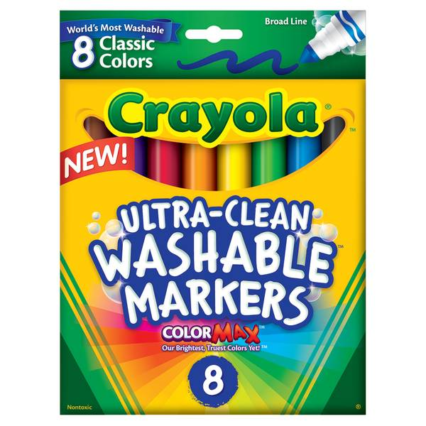 Classic Colors Washable Waterbased Markers