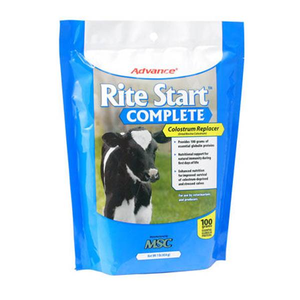 Rite Start Complete Calf Colostrum Replacement