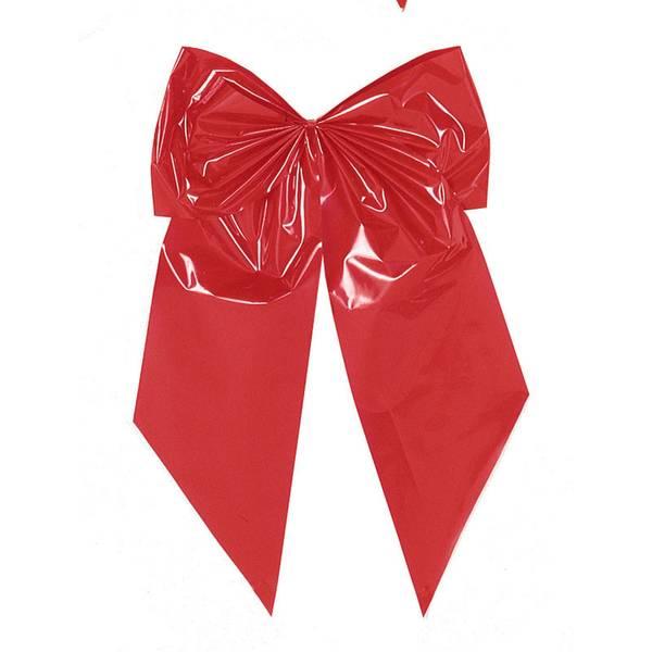 Red 2-Loop Bow