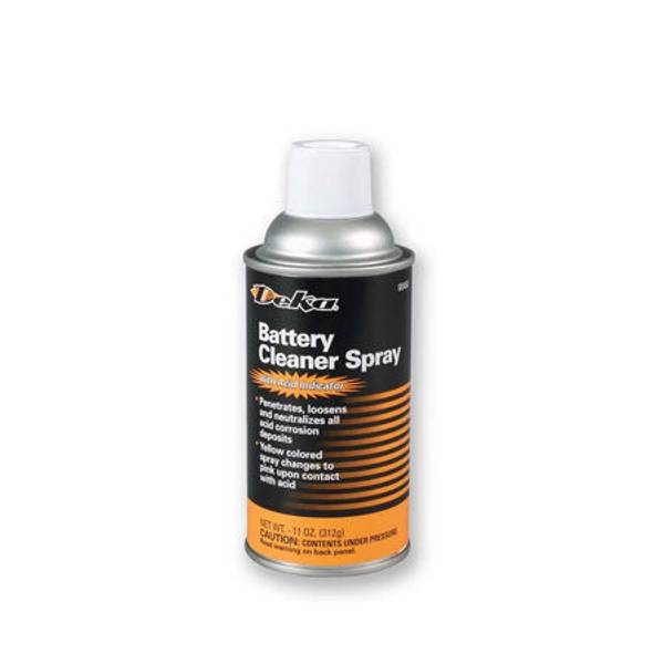 Battery Cleaner Spray with Acid Indicator