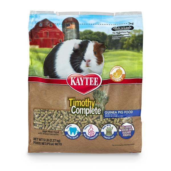 Timothy Complete Guinea Pig Food