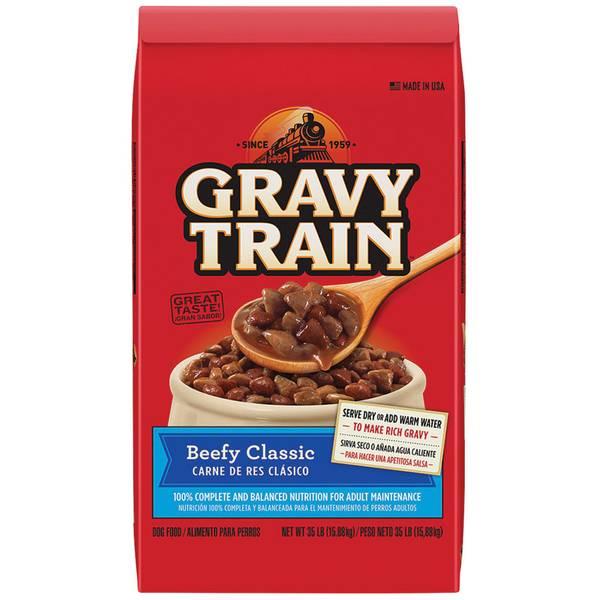 Beef Flavor Dry Dog Food