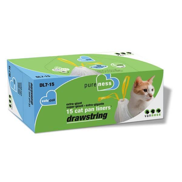 "22"" x 18"" Drawstring Cat Pan Liner"