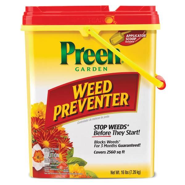 Garden Weed Preventer Plastic Pail