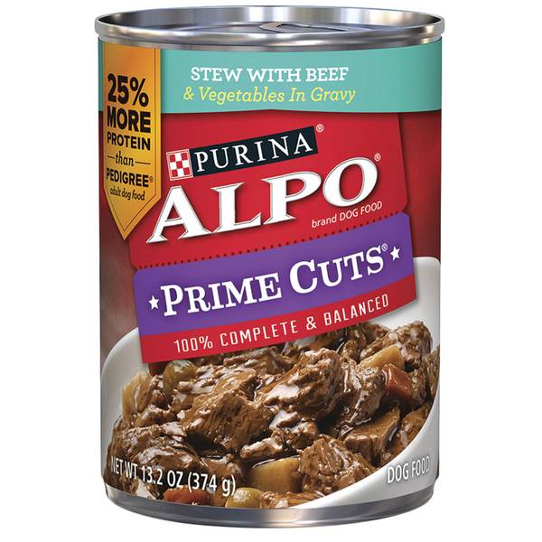 Prime Cuts in Gravy Canned Dog Food