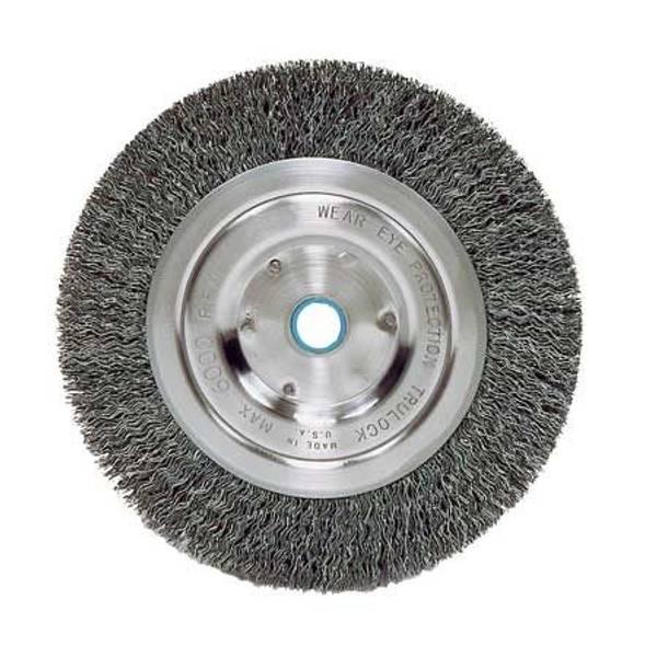 """8"""" Vortec Pro Crimped Wire Bench Grinder Wheel"""