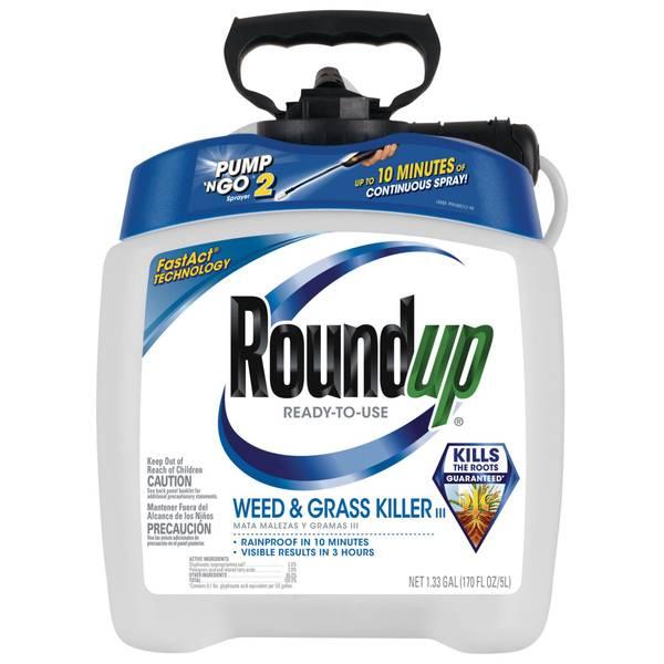 Ready-To-Use Weed & Grass Killer III Plus Pump 'N Go Sprayer