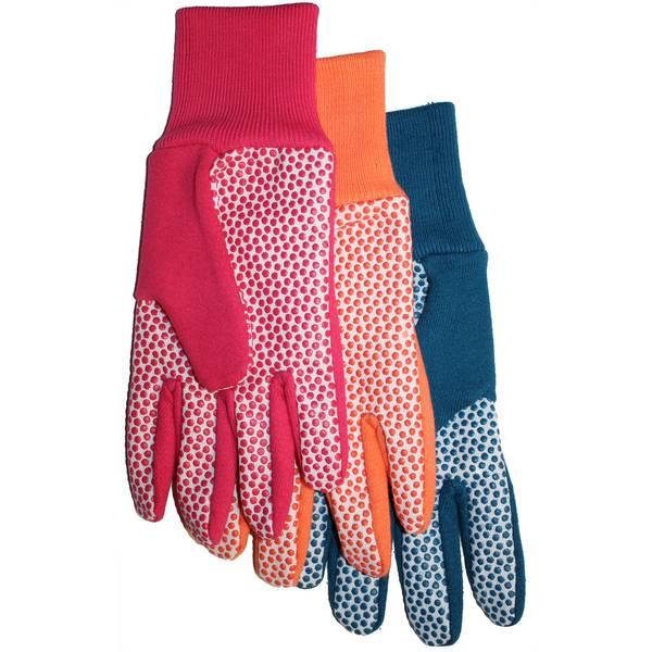 Women's Canvas & Jersey Garden Gloves