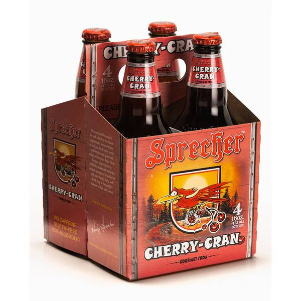 Cherry-Cran Gourmet Soda