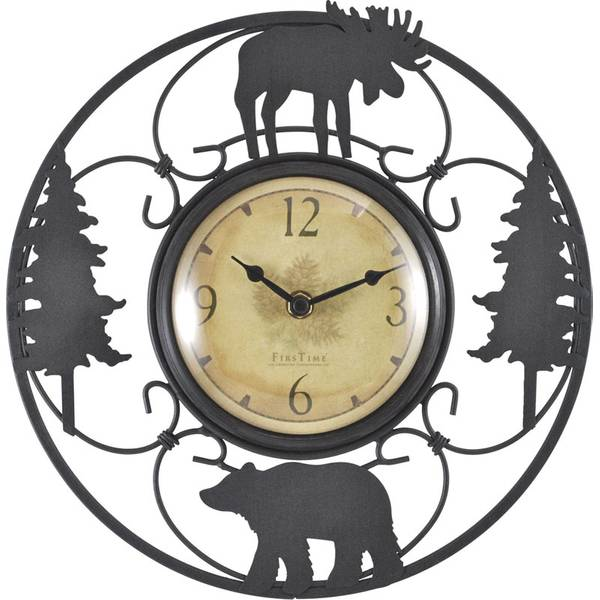 "11"" Wildlife Wire Clock"