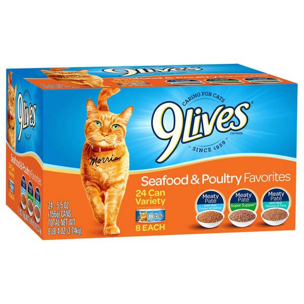 Seafood & Poultry Favorites Variety Pack Cat Food