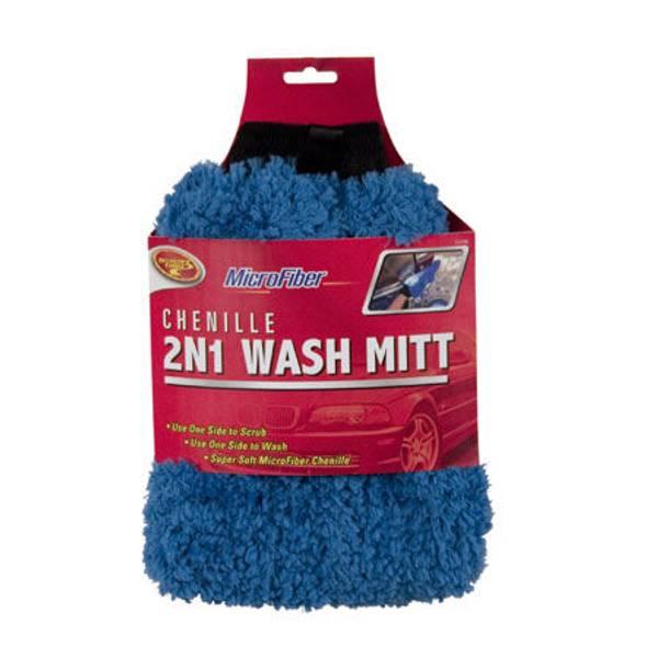 Chenille 2 - N - 1 Wash Mitt