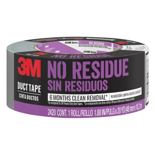 No Residue Tough Duct Tape