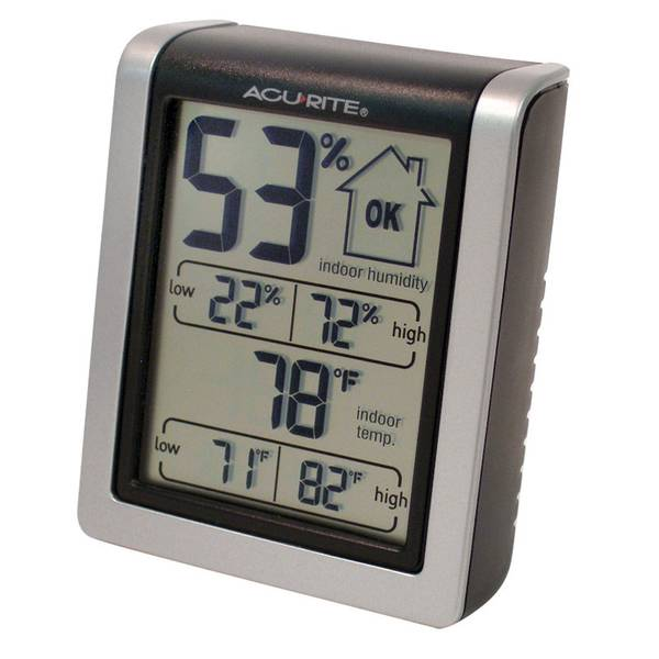 Indoor Thermometer with Humidity