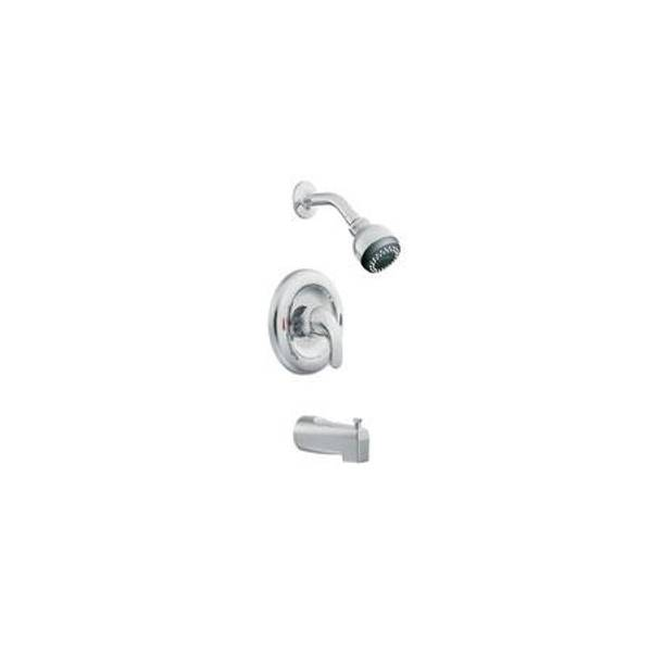 One Handle Posi - Temp Valve and Bathtub and Shower Faucet