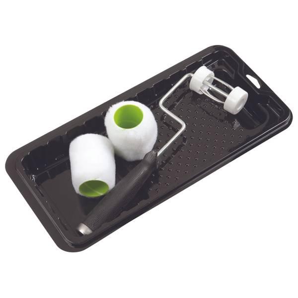 4 Piece SHUR-FLOW Trim Paint Roller & Tray Set