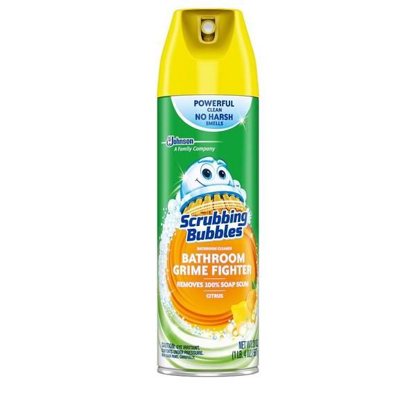 Scrubbing Bubbles Aerosol Bathroom Cleaner