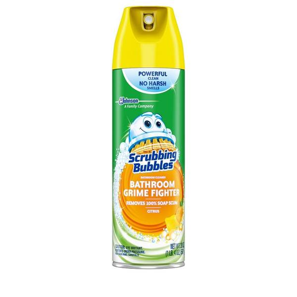 Best Bathroom Cleaner Reviews: Scrubbing Bubbles Aerosol Bathroom Cleaner