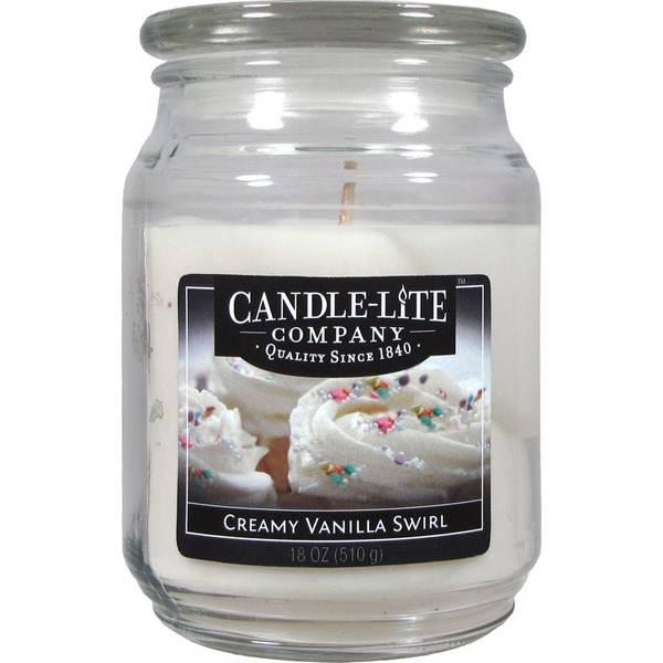 Creamy Vanilla Swirl Candle
