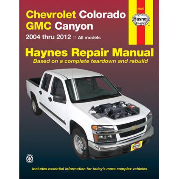 Chevrolet Colorado & GMC Canyon, '04-'12 Manual