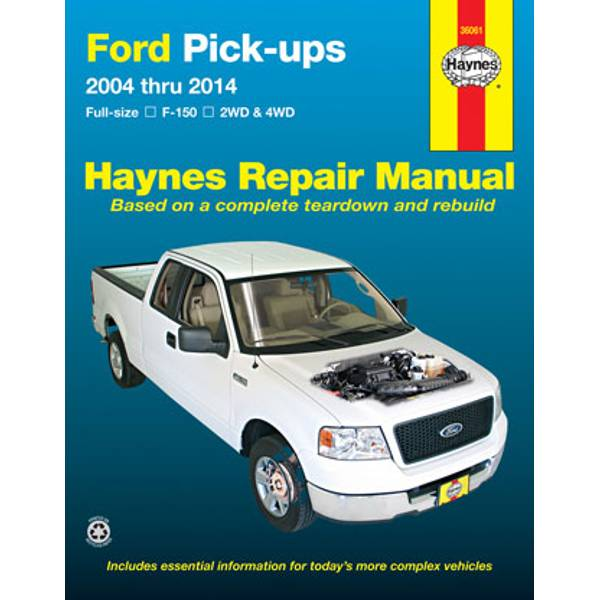 Ford Pick-Ups, Full-size F-150, '04-'14 Manual